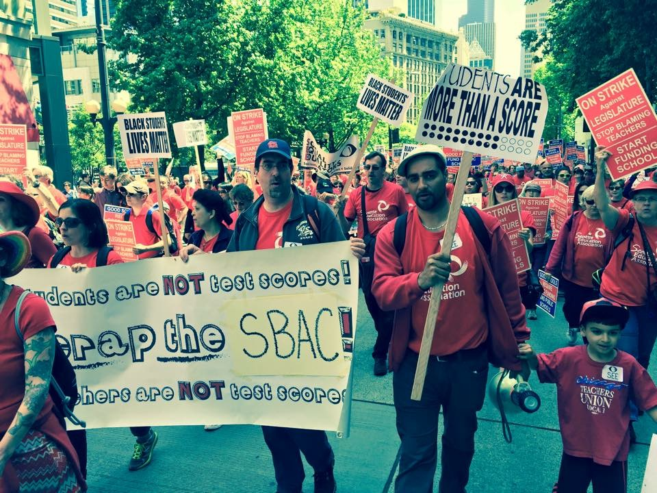 It's unanimous, Seattle teachers vote to strike and this is why (3/6)