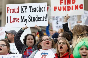 KentuckyTeacherRally